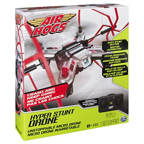 Air Hogs 6037213 Hyper - Drone Rojo: Amazon.es: Juguetes y juegos