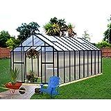 Monticello MONT-20-BK Greenhouse 8 x 20 Black