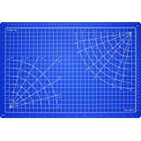 Excel Self-Healing Cutting Mat, 5-1/2 by 9-Inch, Blue