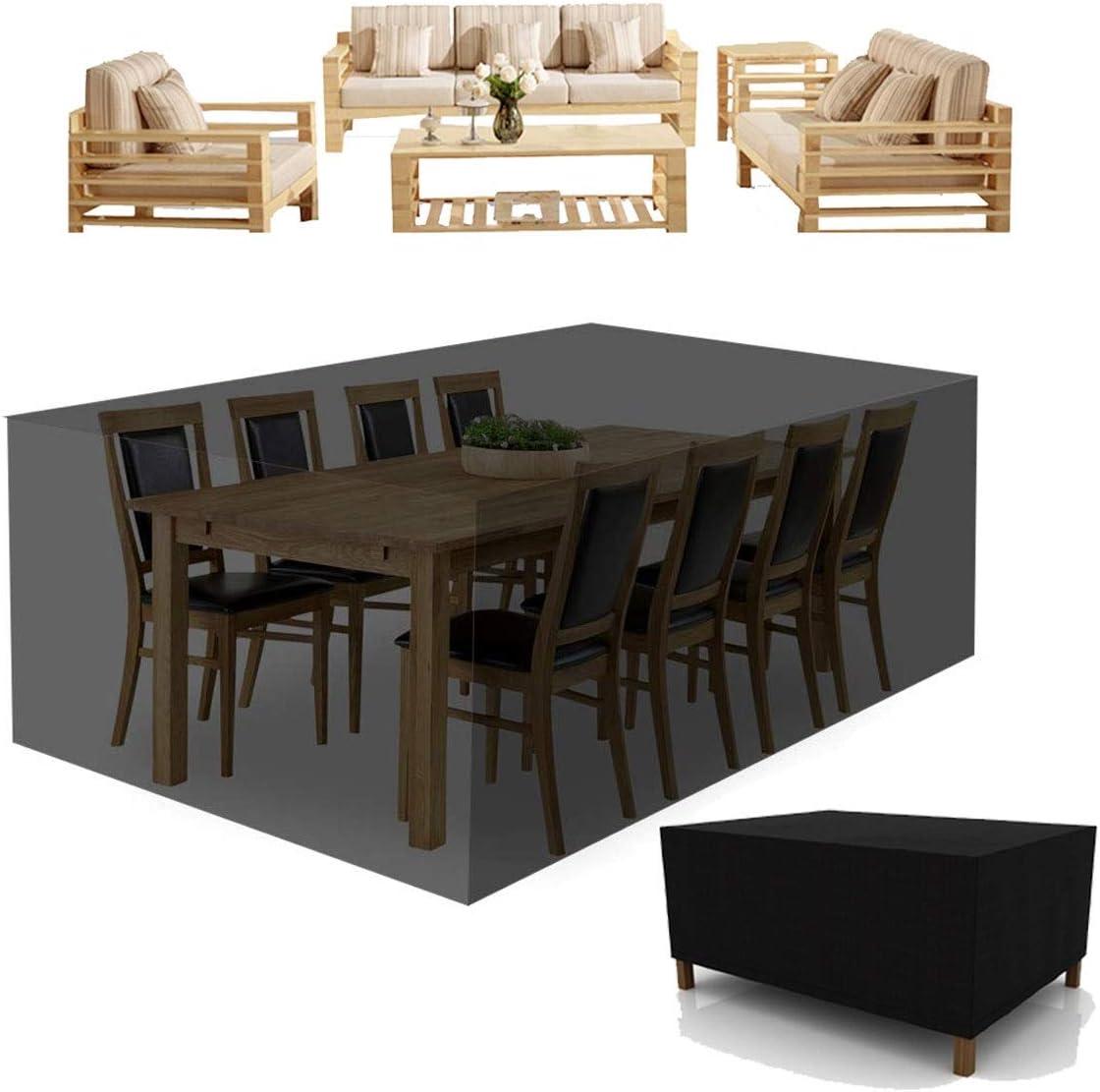 Outdoor Garden Furniture Cover, Tarpaulin Dustproof Outdoor Table