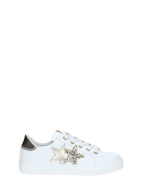 nuovo stile di vita scarpe autunnali abbigliamento sportivo ad alte prestazioni Nero Giardini Sneaker in Pelle Stella Bambina Bianco 31 Taglia ...