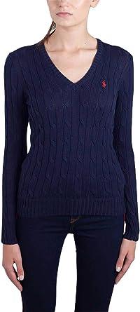 Polo Ralph Lauren V39ie168ce149, Sudadera para Mujer, Blau (Hunter ...