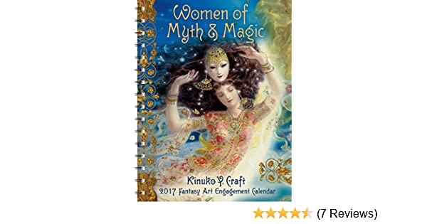 Women Of Myth Magic 2017 Fantasy Art Engagement Datebook