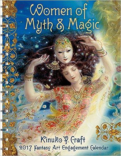 Women of Myth & Magic 2017 Fantasy Art Engagement Datebook