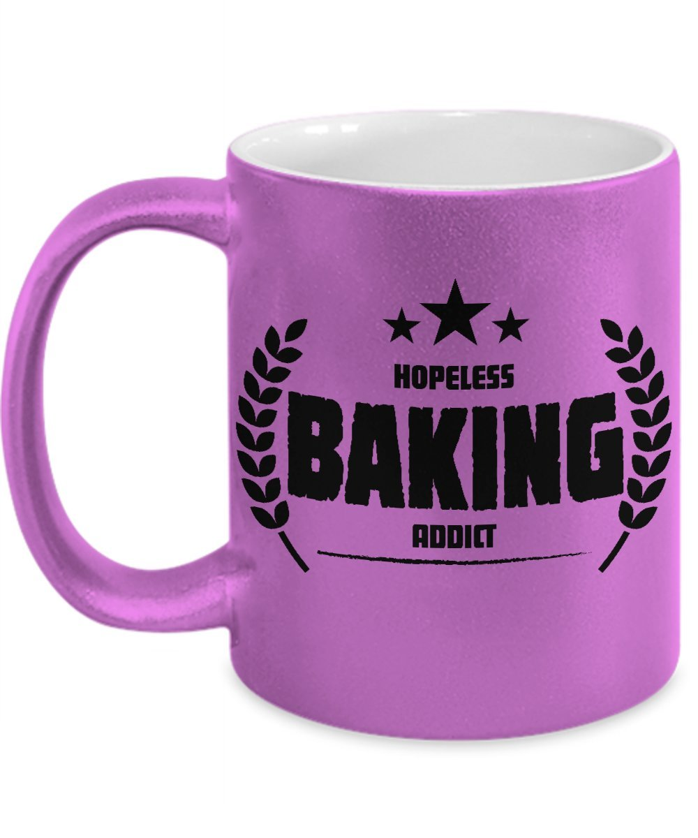 Printed Mug Addicted to Baking!