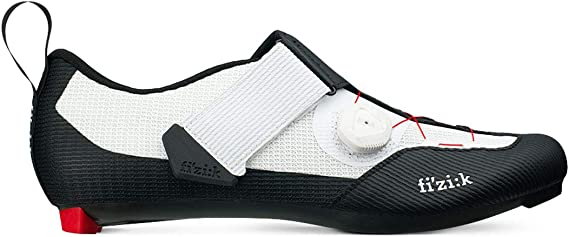 Fizik Men's Transiro Infinito R3 Triathlon Cycling Shoes - Black/White