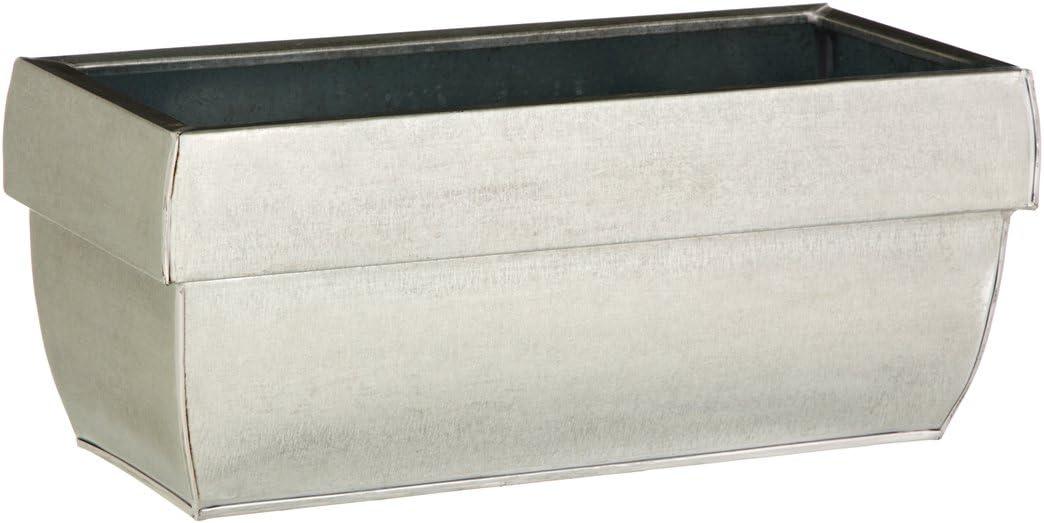 ca Zink-Blumenkasten 40 x 18 x 17 cm Dehner Pflanzgef/ä/ß