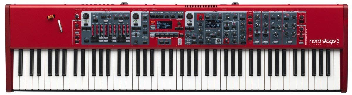 Nord USA Nord 3 88-Key Digital Stage Piano with Full Weighted Hammer Action Keybed (AMS-NSTAGE3-88) (Renewed) by Nord