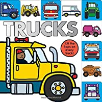 Lift-the-Flap Tab: Trucks (Lift-the-Flap Tab Books)