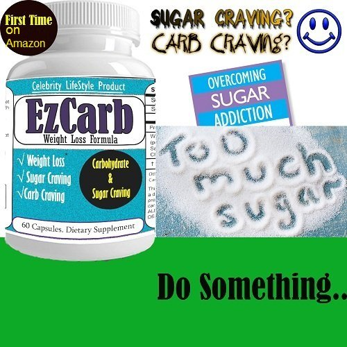 EzCarb Weight Loss Pill, Lose your Weight, Appetite Supressant, Curb your food craving now, Rapid Weight Loss Diet Pills Extreme Quik Fat Burner Flat Belly Ultra Slim Body