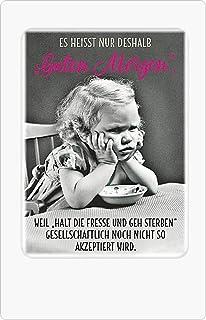 Undercover Postkarte Karte Sprüche Ich Hab Da Son