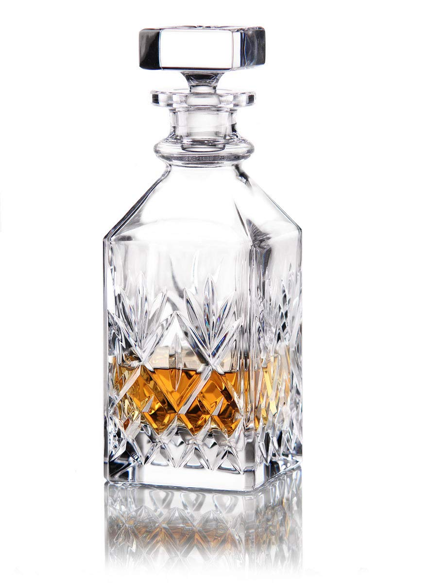 Waterford Crystal Huntley Square Whiskey Decanter