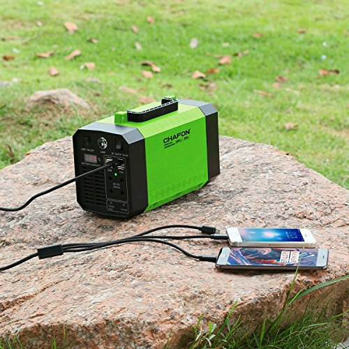 CHAFON Generator Station Rechargeable CPAP Inverter with Outlet,DC 12V, Ports Camping