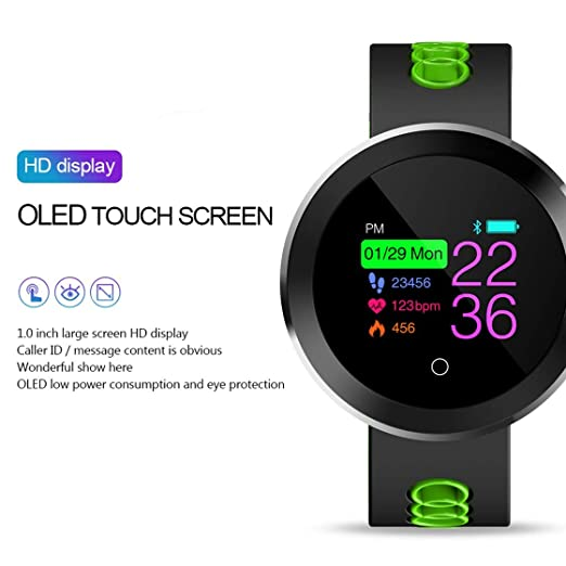 0,95 Pulgadas OLED Bluetooth Smart Watch IP68 Agua Densidad ...