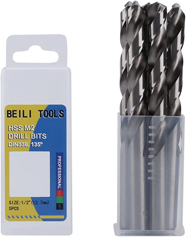 Pack 10 FREE DELIVERY High Speed Jobber Drill Bits 7MM