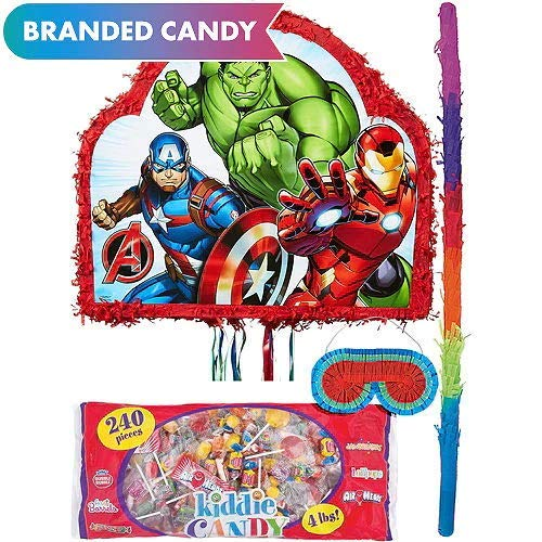 HollyDel Party Favors Avengers Themed Pinata Kit Avengers Party Supplies