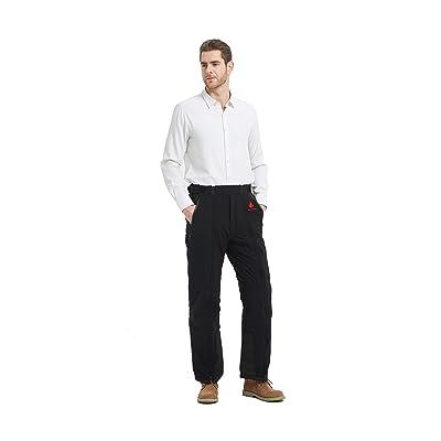 PANTS ON PANTS Men's Waterproof Snow Pants: Easy On, Easy Off at Men's Clothing store