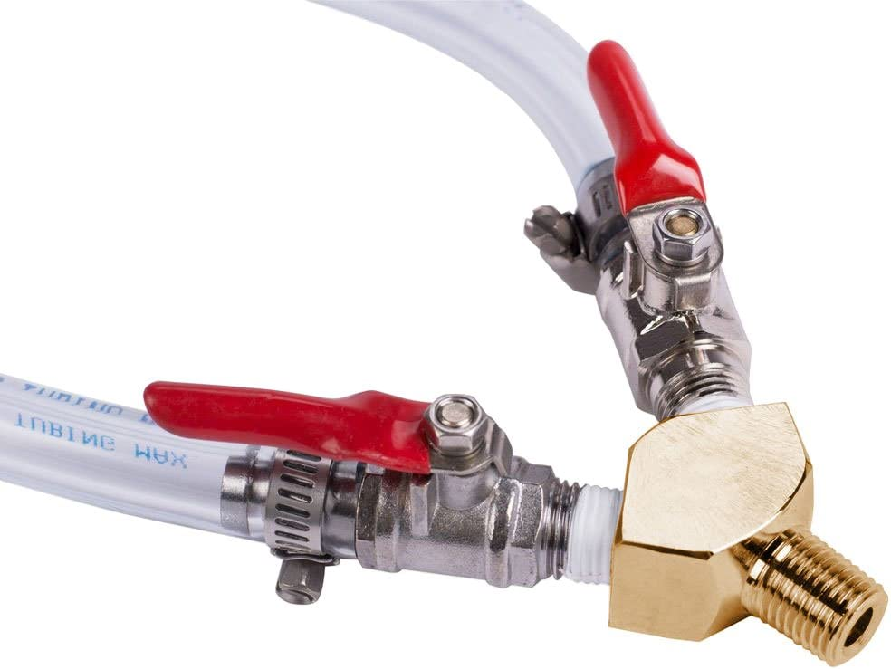 Beer Tap Draft Air line co2 Hose 5ft Kegerator Gas Spliter Regulator Couplers