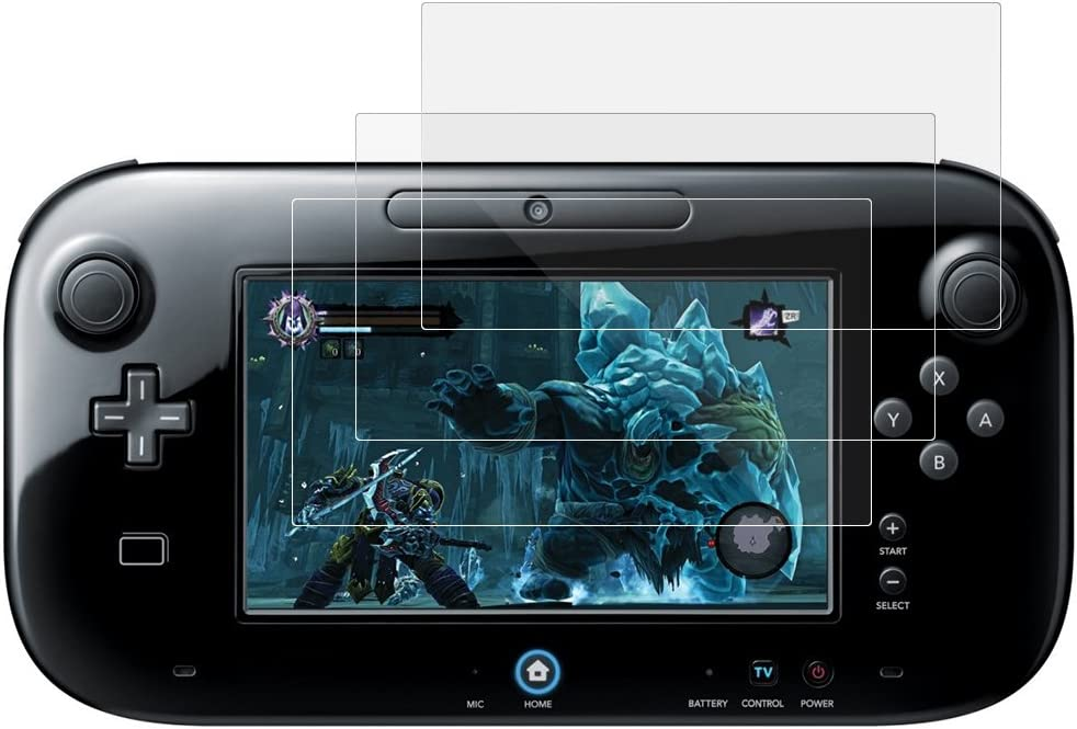 AFUNTA Protectores de Pantalla para Nintendo Wii U Gamepad, 3 Pack Anti-rasca HD Clear Pet Películas Escudos para Pantalla LCD: Amazon.es: Electrónica
