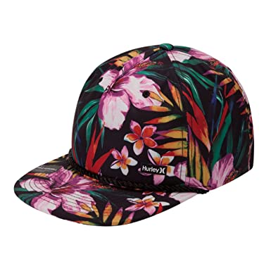c15b49859 inexpensive hurley floral hat e9415 9e67e