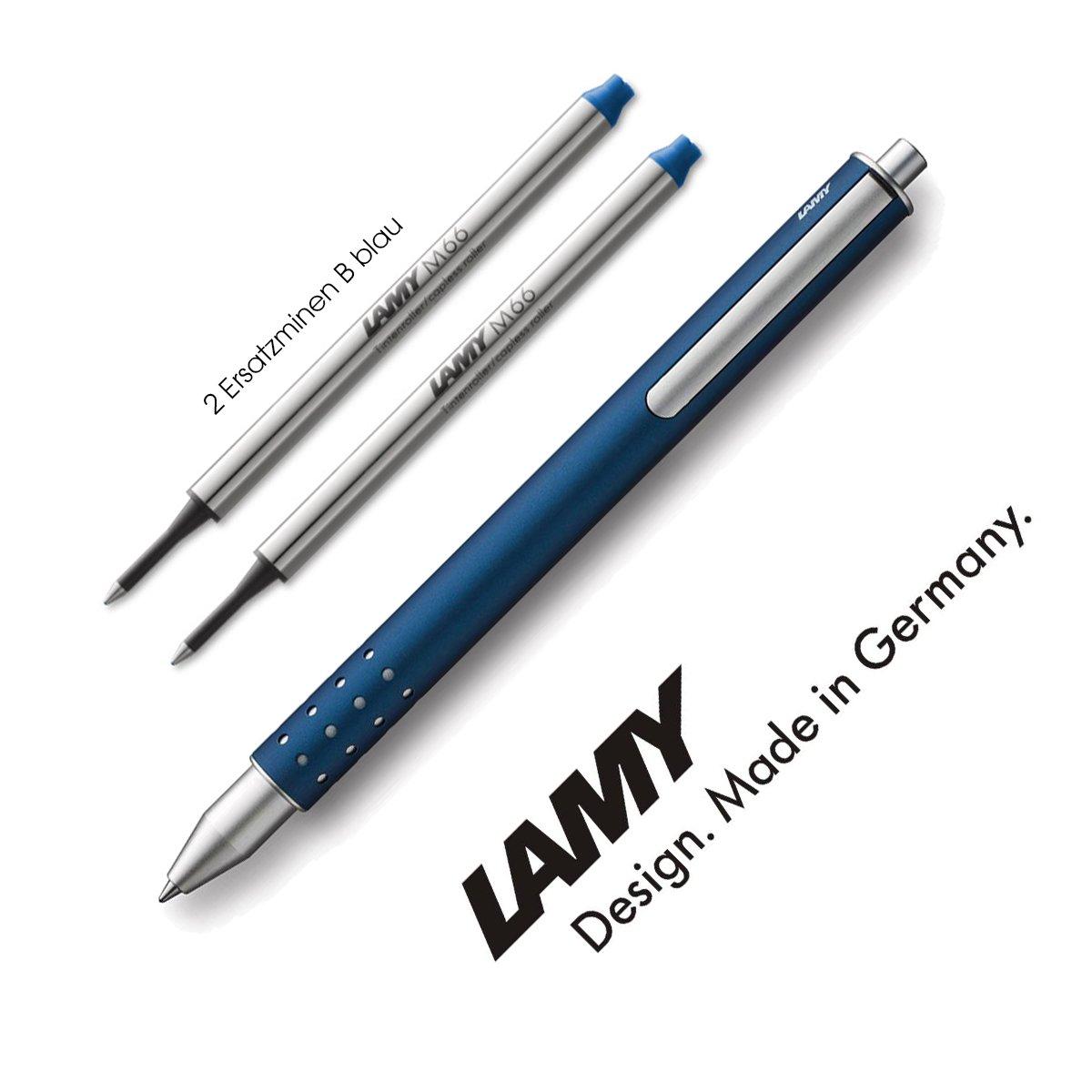 Lamy 1226055 Tintenroller Swift Modell Nummer 334, imperial blau  2 Ersatzminen B blau B01CCL62WO   Förderung