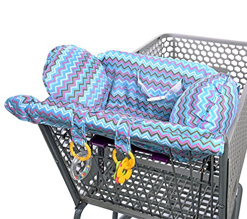 Lil Jumbl Shopping Cart Cover for Baby | Comfortable Design with Easy-Fit Belt (Floppy Seat Cover compare prices)