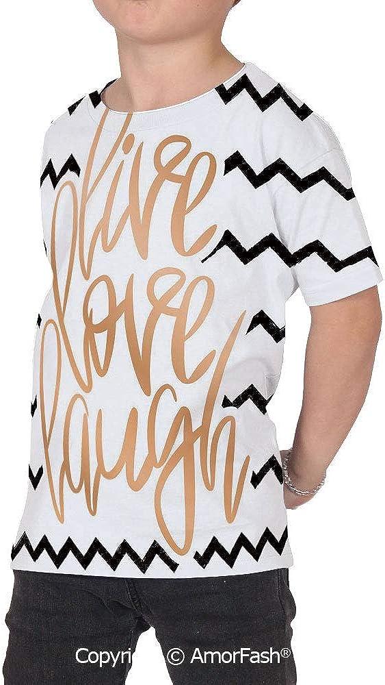 Live Laugh Love Decor Original Printed Short Sleeve Shirt Size XS-2XL Big,Motiva