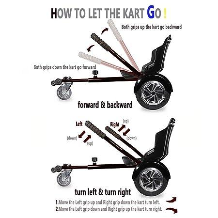 Amazon.com: Suposun - Mini patinete ajustable para todas las ...