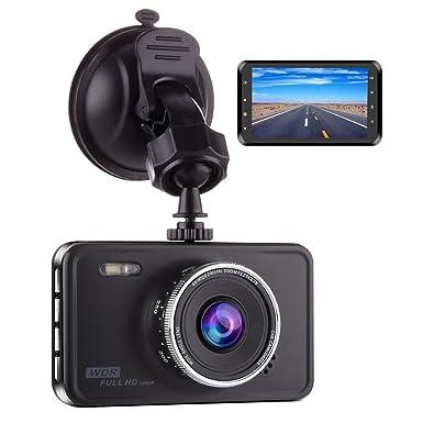 Cámara para el salpicadero del coche grabadora de vídeo 1080P HD 170