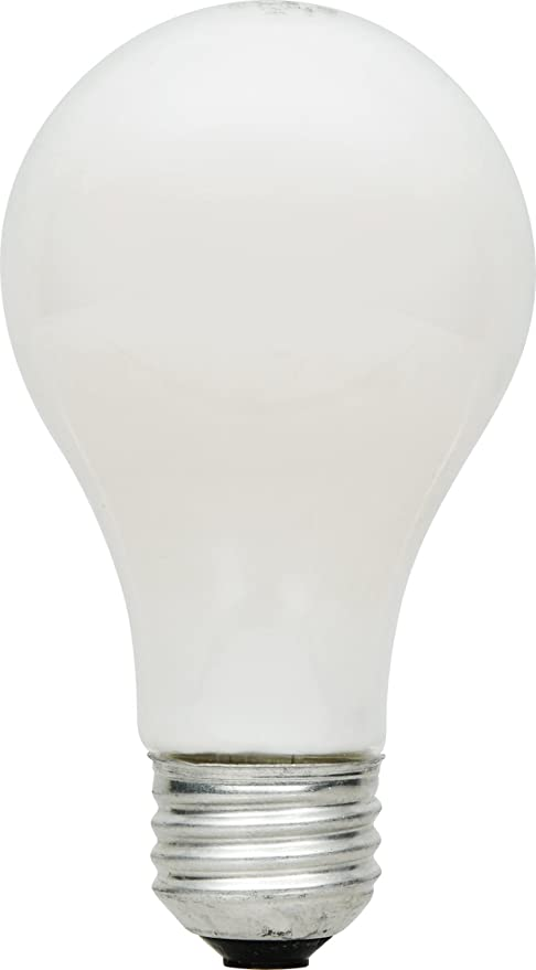 SYLVANIA Home Lighting 52620 Halogen Bulb A19-43W-2750K, Extra Soft White Finish, Medium Base, Pack of 4 - - Amazon.com