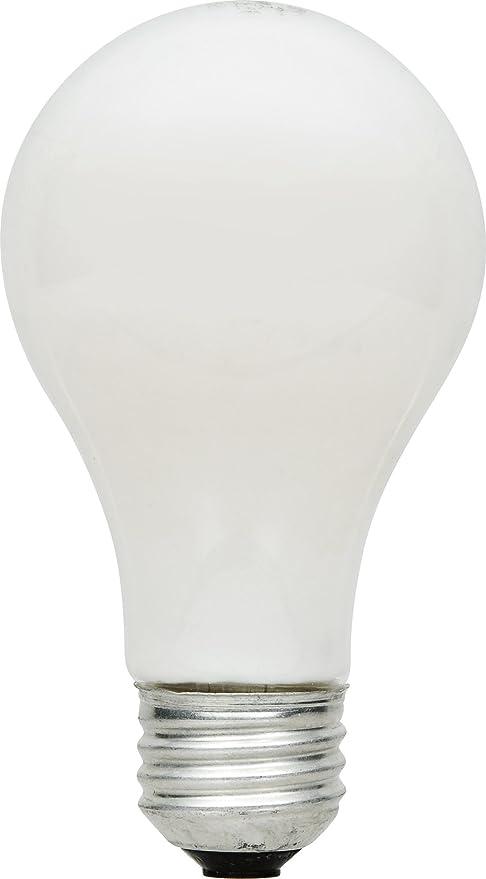 SYLVANIA Home Lighting 52620 Halogen Bulb A19-43W-2750K, Extra Soft White Finish, Medium Base, Pack of 4 - - Amazon.com