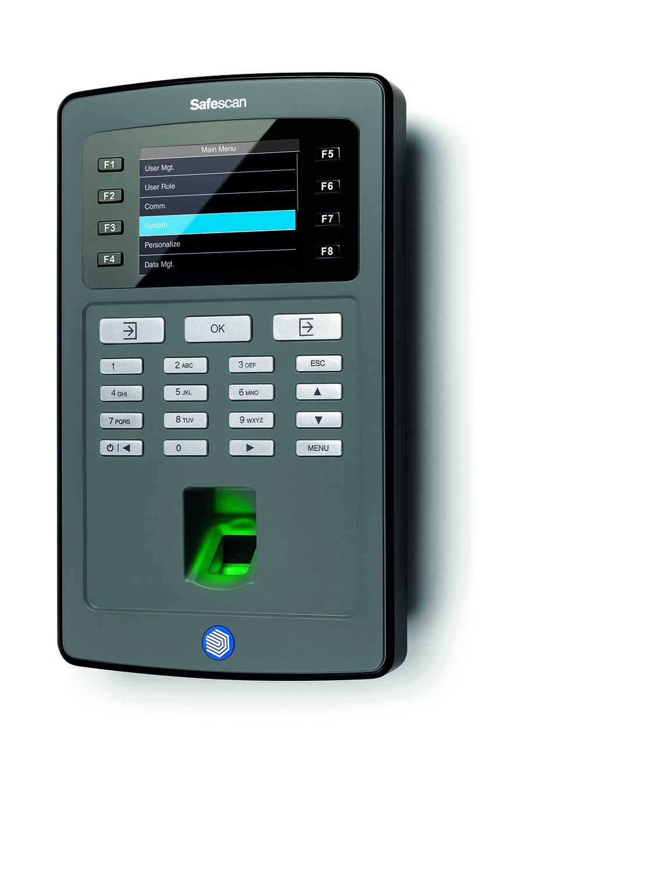 Safescan TA-8020 - Controlador de presencia: Amazon.es: Oficina y papelería