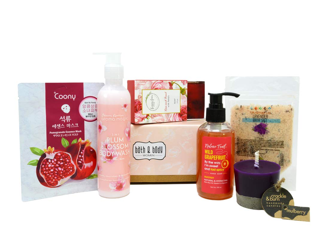 fb287d0654 Buy Boxes of Joy Bath   Body Box for Women Spring Edition with premium  Shower Gel
