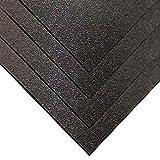 Kydex 100 Plastic Sheet 3/32' (.093) x 12' x 12' - Calcutta Black (4 Pack)