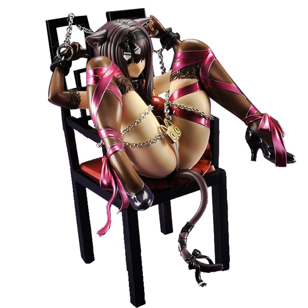 Amazon.com: Embrace Japan - Anime Cat and chair 1/8 sexy Girl in Chair PVC  Figure Adults Toys: Toys & Games