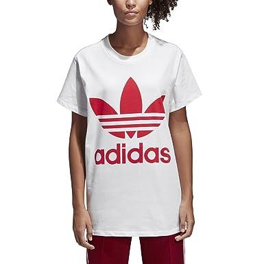 890fdd4881dc adidas Originals Femme Big Trefoil Logo Tee T-Shirt  Amazon.fr  Vêtements  et accessoires