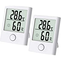 Thermo hygrometer, inomhus luftfuktighetsmätare, digital termohygrometer, fuktmätare, digital luftfuktighetsmätare med…