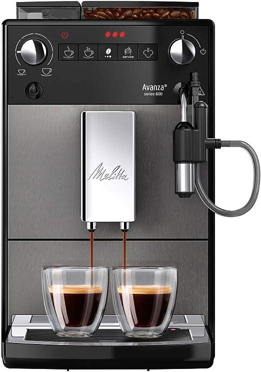 Melitta Avanza Series 600 F270-100, Cafetera Automática, Molinillo ...