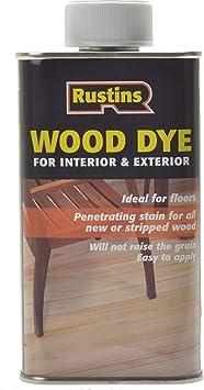 Rustins Interior y Exterior para madera - roble 250 ml