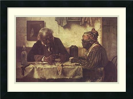 amazon com framed art print a penny short by harry roseland