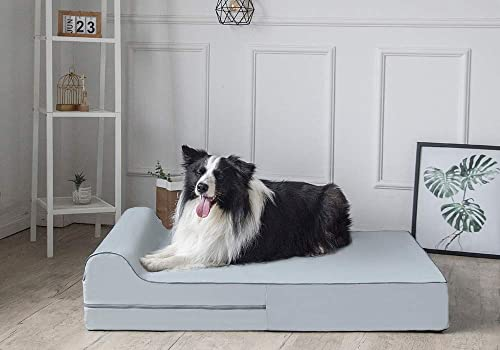 The best dog bed ever: 7-inch Thick High Grade Orthopedic Memory Foam Dog Bed