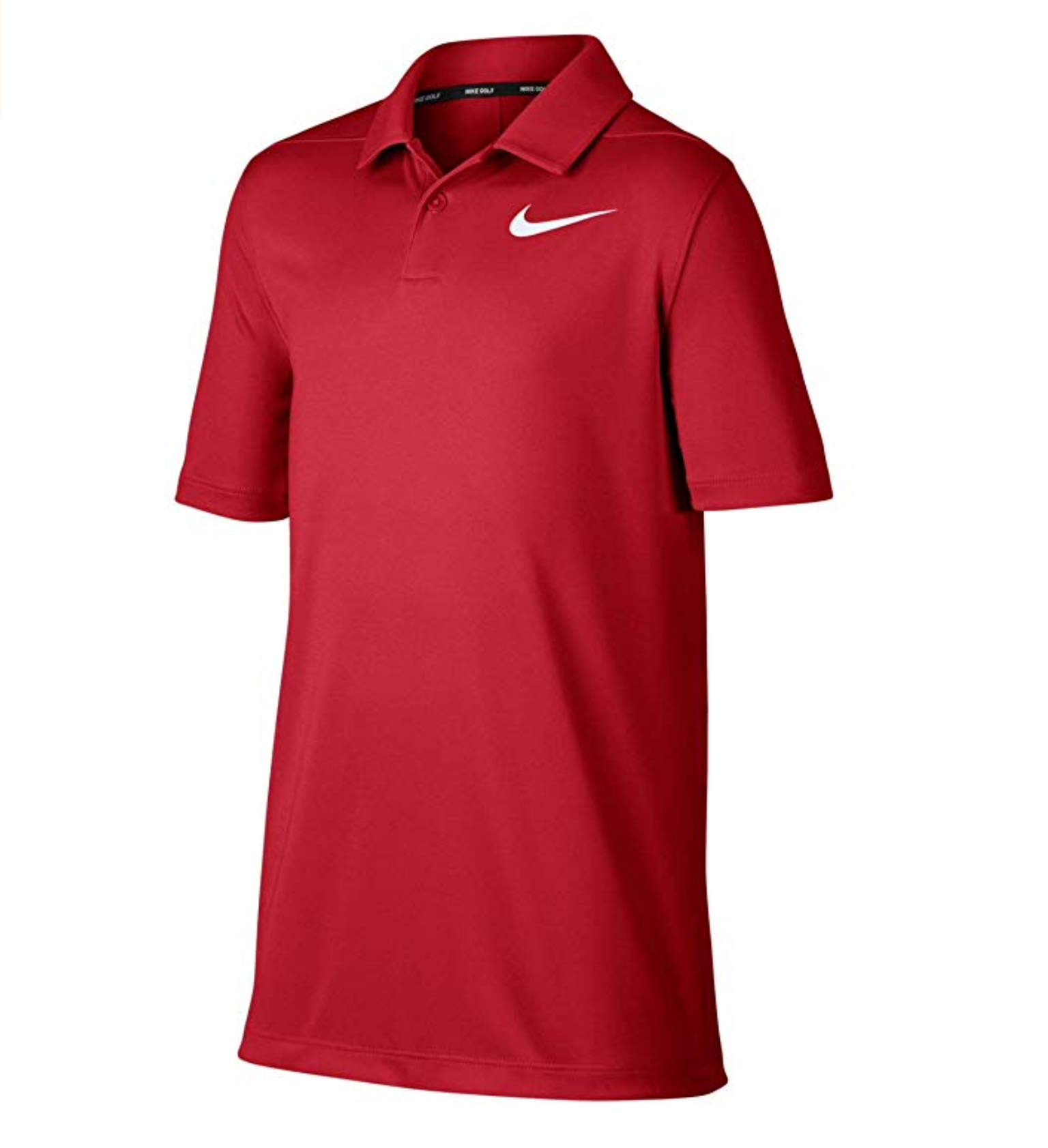 Boys' Victory Golf Polo Shirt (University Red, X-Large)