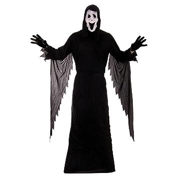 Halloween Fancy Dress Dark Amscan Black Temptress Cape