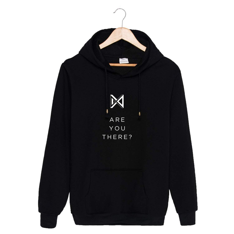 Amazon com : CHAIRAY Monsta X are You There Hoodie Jooheon