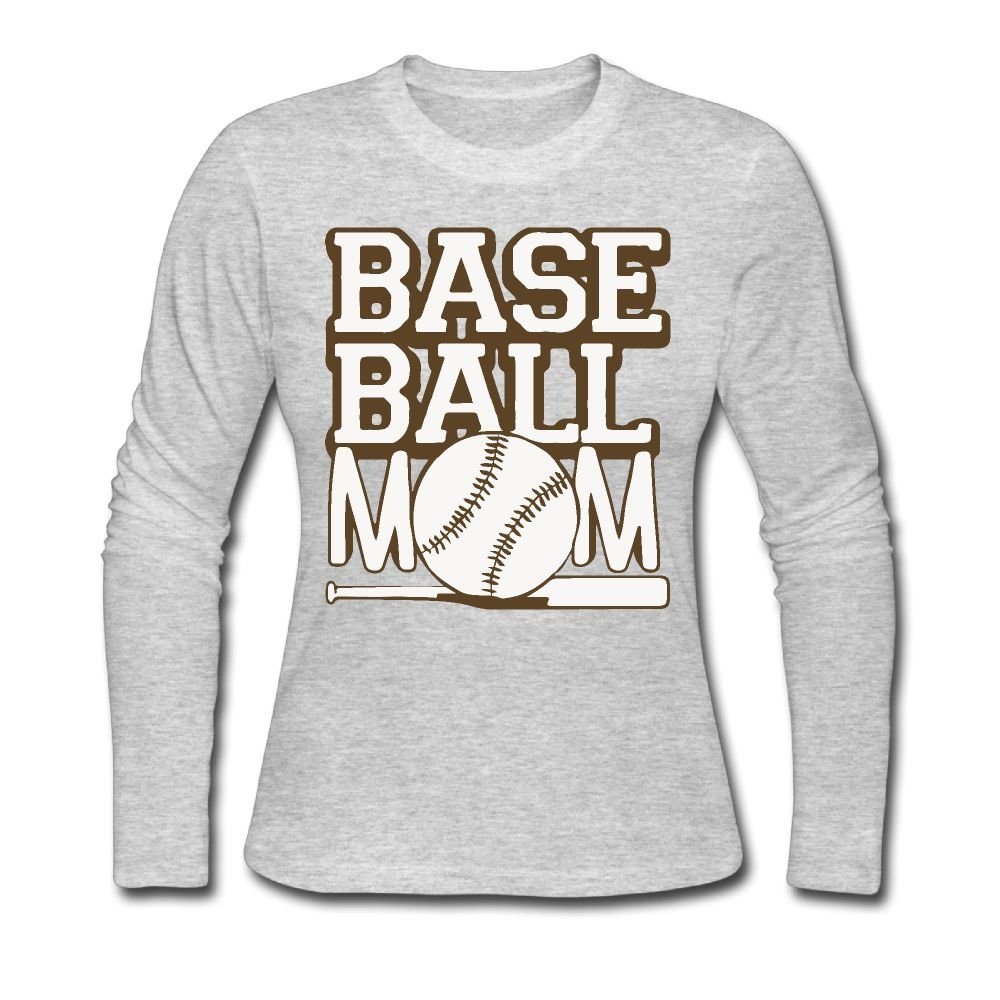 047bfc8bee62d Amazon.com: XMXMLing Women's Baseball Mom 1 ComfortSoft Long-Sleeve ...