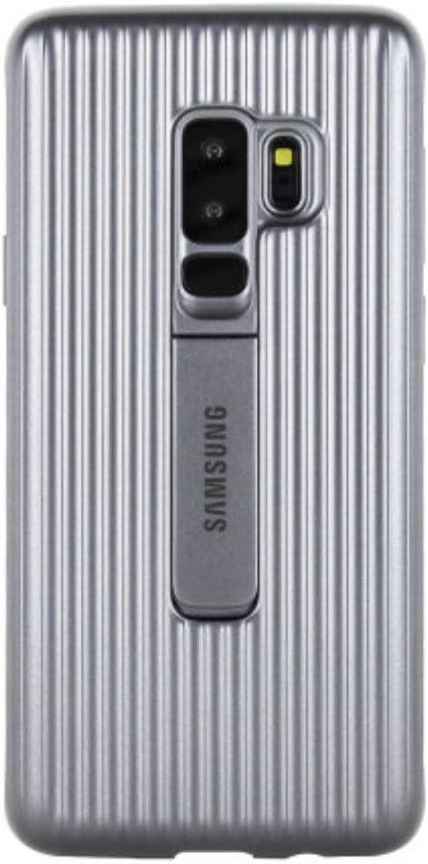 Samsung Protective Standing Cover - Funda para Galaxy S9+, color plata