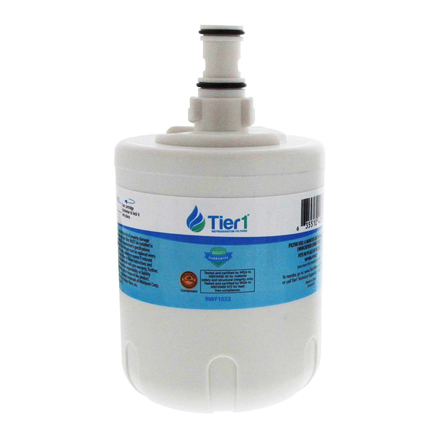 Tier1 Replacement for Whirlpool 8171413, Kenmore 9002, EDR8D1, 469002, 8171414 Refrigerator Water Filter