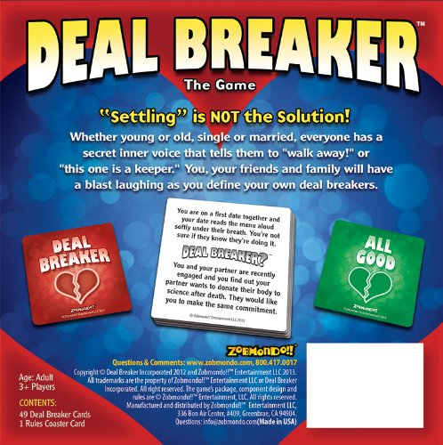deal breakers in dating