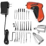 LSHI Lock Pick Set Lock Pick, Electric Lock Pick Gun, New Cordless Pick Gun Tool (A)
