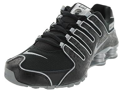 Nike Shox NZ EU Women Sneaker Black/Metallic/Silver 488312-005 (SIZE
